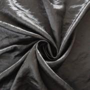 Gyűrt taft, ezüst sötétítő, dekorfüggöny anyag