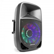 "FT1200A Altoparlante Attivo 250W 12"" MP3 Bluethooth USB SD AUX LED LCD"