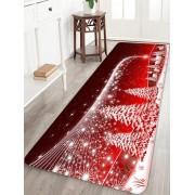 Rosegal Tapis de Sol Sapin de Noël et Etoile Imprimés Largeur 24 x Longueur 71 pouces