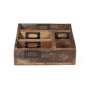 ECO Collection Enveloppe Houder Sloophout 25x15x15