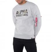 Pulover pentru bărbați Alpha Industries Camo Print 176301 382