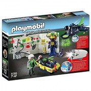 Playmobil top Agents - Laboratory with Jet