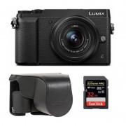 Panasonic Lumix DMC-GX80 Svart + 12-32 + Väska + Minneskort