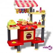 vidaXL Velika dječja kuhinja za igranje