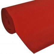 vidaXL Red Carpet 1 x 10 m Extra Heavy 400 g/m2