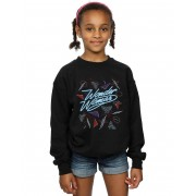 Absolute Cult DC Comics Girls Wonder Woman 84 80s Mix Sweatshirt Blanc 5-6 Years