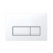 Clapeta actionare Dual-Flush,Geberit Delta 51,pentru rezervor incastrat,alb alpin -115.105.11.1
