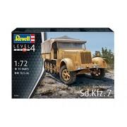 """Revell 03263 Sd Kfz 7"""" Model Set, 1: 72 Scale"""