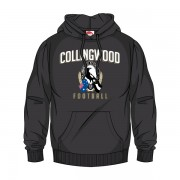 AFL SHD Youth Supporter Hood Collingwood Pies [Size: 10]