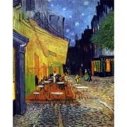 Puzzle din lemn Michele Wilson - Vincent Van Gogh: Cafe Terrace at Night, 250 piese dificile (10365)