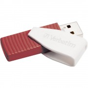 USB stik Swivel Verbatim 16 GB crveni 49814 USB 2.0