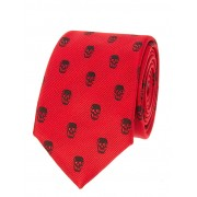 Red Skull Design Tie