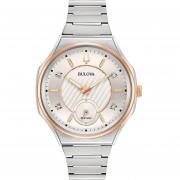 Reloj Bulova Curv UHF Small Second 4 Diamantes 98P182