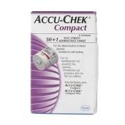 Roche diabetes care italy spa Accu-Chek Compact 50+1 Strisce Reattive