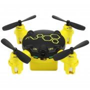 Drone Quadcopter FQ777 FQ04 0.3MP Camera-Negro + Amarillo