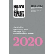 "Hbr's 10 Must Reads 2020: The Definitive Management Ideas of the Year from Harvard Business Review (with Bonus Article ""how Ceos Manage Time"" by, Paperback/Harvard Business Review"
