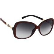 Eyeland Over-sized Sunglasses(Violet)
