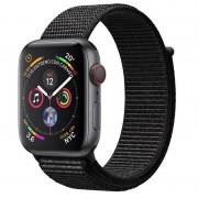 Apple Watch Series 4 GPS + Cellular 44mm Alumínio Cinzento Sideral com Bracelete Loop Preta
