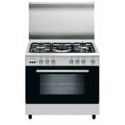 GLEM A85MIF3 LINEA ALPHA cucina inox 80X50, forno gigante elettrico classe A