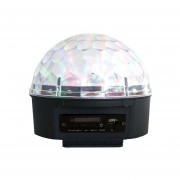 Reproductor MP3, USB, SD Con Luces LED para Fiesta Fussion PDL-2106