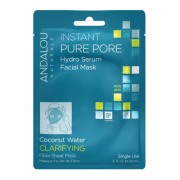 Instant Pure Pore Hydro Serum Facial Mask, 18ml, Andalou