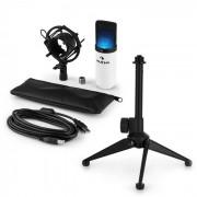 Auna MIC-900WH-LED USB V1 set de microphone