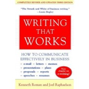 Writing That Works, 3rd Edition: How to Communicate Effectively in Business, Paperback
