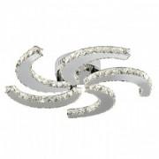 Plafoniera moderna cristal 25W LED CLOVER 9726-26CC SEARCHLIGHT