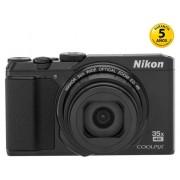 Nikon Cámara Compacta NIKON Coolpix A900 (Negro - 20.3 MP - ISO: 80 a 1600 - Zoom Óptico: 35x)