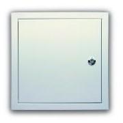 UVM3030 - Usita de vizitare metalica, 30x30 cm