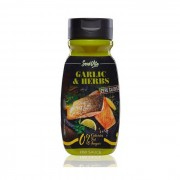 Salsa Garlic & Herbs - 320 ml