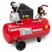 Compresor cu piston coaxial Fini AMICO 50/2400, 8bar, 50L