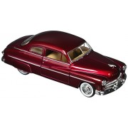 Motor Max 1949 Mercury 8 Coupe, Red - Motormax - 1/24 Scale Diecast Model Toy Car