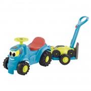 Ecoiffier Tractor met Aanhanger en Grasmaaier