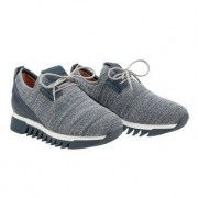 Alexander Smith Knit-Sneaker, 37 - Graublau