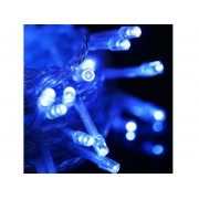 NTR LEDS08BL Kék LED füzér 100xDIP LED 230V IP44 10m