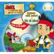 Jake si piratii din Tara de Nicaieri. Mergeti dupa Sunet. Hai sa sarim Carte+CD