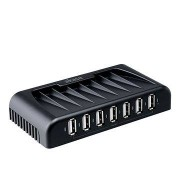 AKASA Csatlakozás 7+ USB 2.0 Fekete