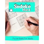 Suduko Hard Puzzle Books For Adults: The Original Sodoku page-a-day, Suduku for adults relaxation puzzle books by time home entertainment, Brain sharp, Paperback/Mevasa R. Champinum
