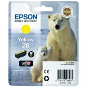 Cartridge Epson T2614 yellow, XP-600/XP-605/XP-700/XP-800 300 strana