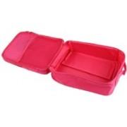 Prabhu Sales Waterproof Travelling 2 Layer Shoe Storage Bag Footwear Pouch (Pink Color) Travel Toiletry Kit(Pink)