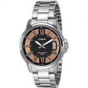 Casio Enticer Analog Black Dial Mens Watch-Mtp-E130D-1A2Vdf