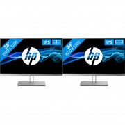 2x HP EliteDisplay E243i