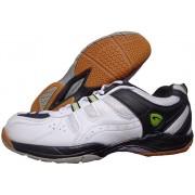 Proase Bg-03 Badminton Shoes(White, Black)