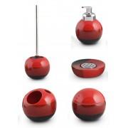 Set de accesorii pentru baie AWD REDS