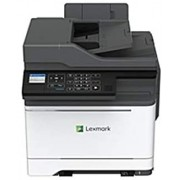 Lexmark CX421adn Laser Multifunction Printer - Color - Plain Paper Print - Desktop - Copier/Fax/Printer/Scanner - 25 ppm Mono/25 ppm Color Print - 2400 x 600 dpi Print - (Renewed)