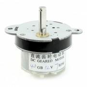 7RPM 5mm Diametro del eje Pernament magnetico DC 12V Geared Motorreductor