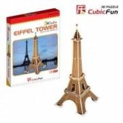 Turnul Eiffel Paris Franta - Puzzle 3D - 20 de piese