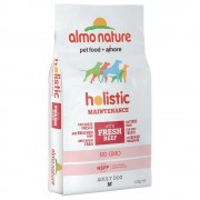 Almo Nature Holistic Medium Adult con Manzo e Riso - 12 kg