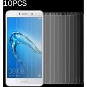 10 PCs Para Huawei Y7 0.3mm 9h La Dureza De La Superficie (no En Pantalla Completa A Prueba De Explosion Tempered Glass Screen Film